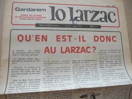 Journal Larzac Défense Du Larzac Gardarem  Lo Larzac N°11 Mai 1976 - Languedoc-Roussillon