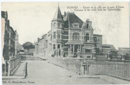 Veurne - Furnes - Entrée De La Ville Par Le Pont D'Ypres - Edit. H. Morez-Decroo, Furnes - Veurne