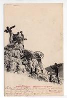 - CPA MILITAIRES - Batterie Alpine 1904 - Manoeuvre De Force (belle Animation) - Edition J. C. - - Manoeuvres