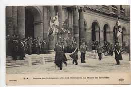 - CPA MILITAIRES - 1914 - Remise Des 6 Drapeaux Pris Aux Allemands, Au Musée Des Invalides - Edition Le Deley - - Patriotiques
