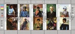 South Africa - 2012 George Pemba Sheet (o) - Afrique Du Sud (1961-...)