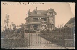 FOTOKAART 1922 - WAERMAERDE - VILLA BUYSSENS - FOTOGRAAF VANDEMEULEBROEKE  KERKHOVE  2 SCANS - Avelgem