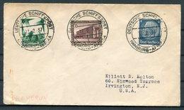 1937 Germany WHF Deutsche Schiffspost Ship Cover. Hamburg - Afrika KAMERUN - Briefe U. Dokumente