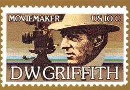 Philatélie - Reproduction De 5 Timbres Américains - United States Postage - Série De 5 Cartes Postales - Timbres (représentations)