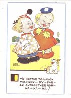 MABEL LUCIE ATTWELL ART DRAWN CARD No.5326 CHILDREN - Attwell, M. L.