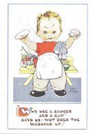 MABEL LUCIE ATTWELL ART DRAWN CARD No.5331 CHILDREN - Attwell, M. L.