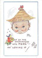 MABEL LUCIE ATTWELL ART DRAWN CARD No.5838 CHILDREN - Attwell, M. L.