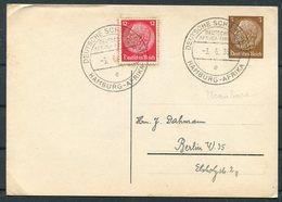 1938 Germany Deutsche Schiffspost Ship Stationery Postcard. Hamburg - Afrika USAMBARA - Briefe U. Dokumente
