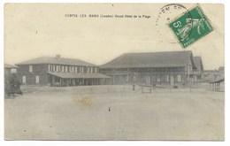 40-CONTIS-LES-BAINS-Grand Hôtel De La PLAGE...1911  (pli) - France