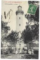 40-CONTIS-LES-BAINS-Le Phare...1911   Animé - Autres Communes