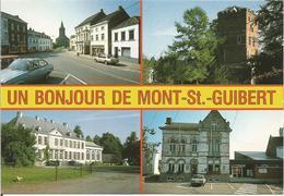 UN BONJOUR DE MONT-St-GUIBERT. (scan Verso) - Mont-Saint-Guibert