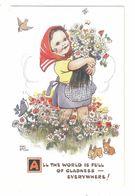 MABEL LUCIE ATTWELL ART DRAWN CARD No.1862 CHILDREN - Attwell, M. L.