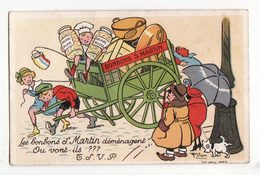 Chromo   BONBONS S. MARTIN    Enfants Et Bonbons    Salade Russe - Confiserie & Biscuits