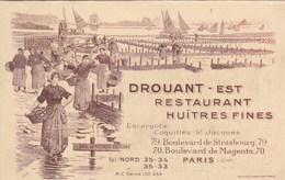DROUANT ,PARIS 10eme ,restaurantmenu 1937-1938 - Menus