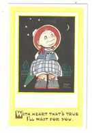 MABEL LUCIE ATTWELL ART DRAWN CARD No.5211 CHILDREN - Attwell, M. L.