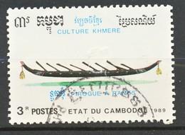 TIMBRE - CAMBODGE - 1989 - Oblitere - Cambodge