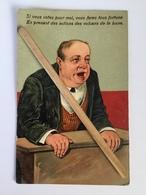 CPA,ÉLECTION,POLITIQUE,humoristique,caricature  «Si Vous Votez Pour Moi....»couleur,gaufrée,relief( Serie 8694)P.B.F. - Satirisch