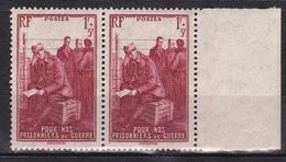 N° 475 Au Profit Des Prisonniers De Guerre. 1 Paire De 2 Timbre Neuf Impeccable - France