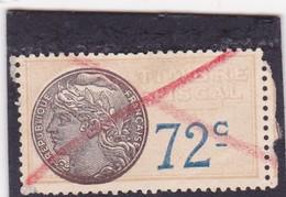 T.F.S.U N°18 - Revenue Stamps