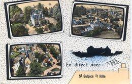 En Direct Avec ST Sulpice Sur Rille - Le Château - Les Usines Bohin - Le Bourg - France