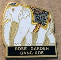 ELEPHANT - ELEFANT - BLANC - WEISS - WHITE - ROSE-GARDEN - BANGKOK - (21) - Animaux