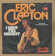 "7"" Single, Eric Clapton, I Shot The Sheriff - Disco, Pop"