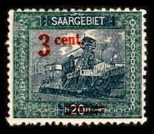 1921 Saar - Unused Stamps