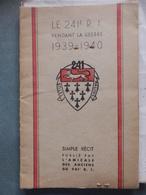 Diksmuide - Le 241e R.I.pendant La Guerre 1939-40 - Documents Historiques