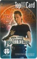 Singapore - Singtel (Hi!-Top Up) - Tomb Raider - Prepaid 25$, Exp. 11.11.2002, Used - Singapore