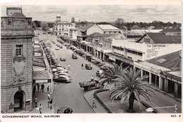 NAIROBI - GOVERNMENT ROAD ~ AN OLD REAL PHOTO POSTCARD #92609 - Kenia