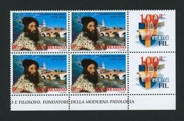 2003 - San MARINO - Cat. Sassone N° 1933 - Quartina Nuova Bordo Foglio-appendice - Unused Stamps