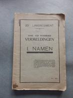 Diksmuide - 20e Linieregiment - Zijne Roemrijke Vermeldingen - Mei 1935 - Documents Historiques
