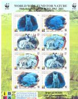 2011. Kyrgyzstan, WWF, 50th Anniversary, Sheetlet With Overprint, Mint/** - Kirgisistan