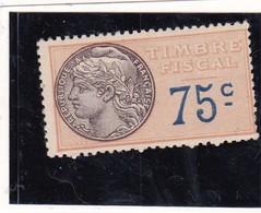 T.F.S.U N°19 Neuf - Revenue Stamps