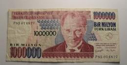 1970 - Turquie - Turkey - 1000000 LIRASI, 14 OCAK 1970, P85 074827 - Turquie