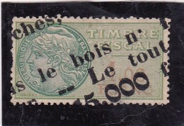 T.F.S.U N°23 - Revenue Stamps
