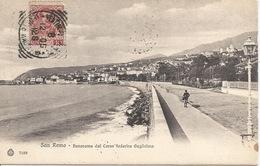 ITALIE San Remo  Panorama Dal Corso Federico Guglielmo 1905 - San Remo