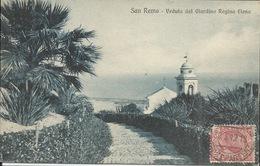 ITALIE San Remo  Veduta Dal Giardino Regina Elena  1912 - San Remo