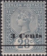 Ceylon     .   SG  .   243      .    *     .     Mint-hinged     .   /    .    Ongebruikt - Ceylon (...-1947)