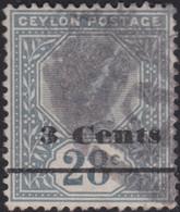 Ceylon     .   SG  .   243      .    O        .    Cancelled     .   /    .    Gebruikt - Ceylon (...-1947)
