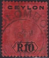 Ceylon     .   SG  .   318  ( 2 Scans )    .    O   .      Cancelled    .   /    .    Gebruikt - Ceylon (...-1947)