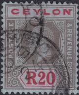 Ceylon     .   SG  .   319  ( 2 Scans )    .    O   .      Cancelled    .   /    .    Gebruikt - Ceylon (...-1947)
