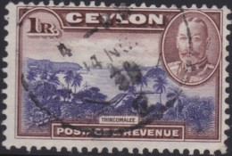Ceylon     .   SG  .   378       .    O   .      Cancelled    .   /    .    Gebruikt - Ceylon (...-1947)