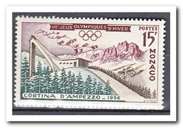 Monaco 1956, Postfris MNH, Olympic Winter Games - Monaco