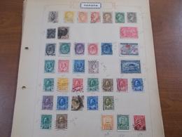 Lot N°311 ETATS UNIS + Ameriques Du Sud Neufs * Ou Obl Sur Pages D'albums - Postzegels