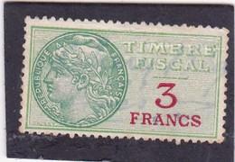 T.F.S.U N°30 - Revenue Stamps
