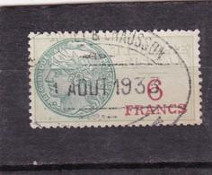 T.F.S.U N°31 - Revenue Stamps