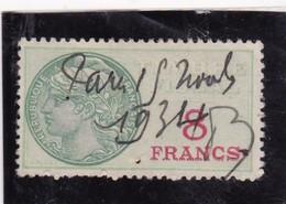 T.F.S.U N°35 - Revenue Stamps