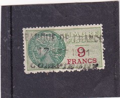 T.F.S.U N°36 - Revenue Stamps