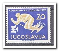 Yougoslavië 1956, Postfris MNH, Olympic Winter Games - 1945-1992 Socialistische Federale Republiek Joegoslavië